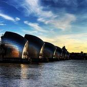 Thames Barrier Portrait